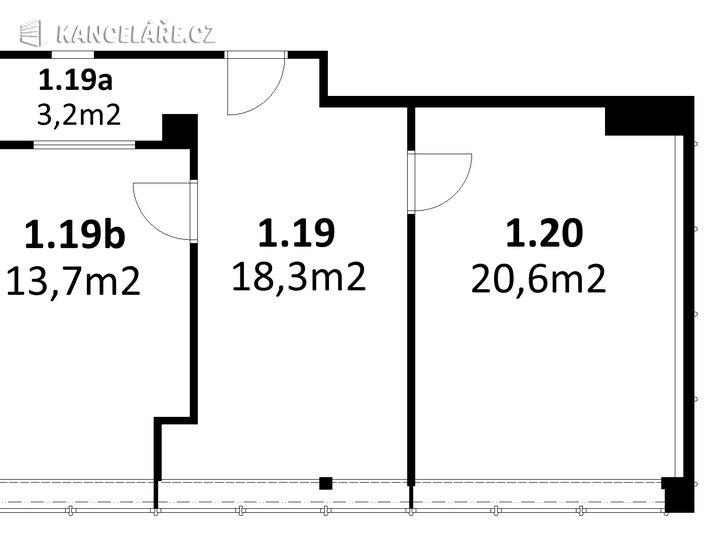 Kancelář k pronájmu - Jinonická 804/80, Praha - Košíře, 56 m² - foto 11
