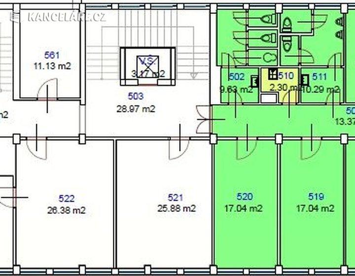 Kancelář k pronájmu - Mlýnská 2353/12, Ostrava - Moravská Ostrava, 200 m² - foto 4