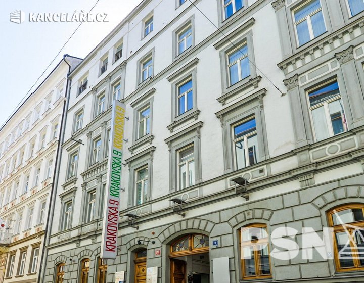 Kancelář k pronájmu - Krakovská 583/9, Praha, 37 m² - foto 1