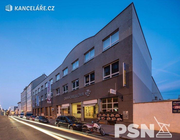 Kancelář k pronájmu - Drahobejlova 1073/36, Praha, 50 m²