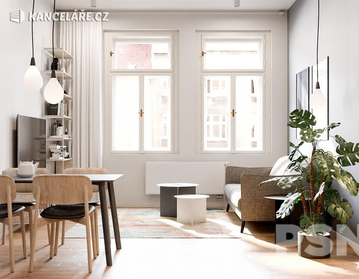 Byt na prodej - 2+kk, Bořivojova 1049/57, Praha, 66 m²