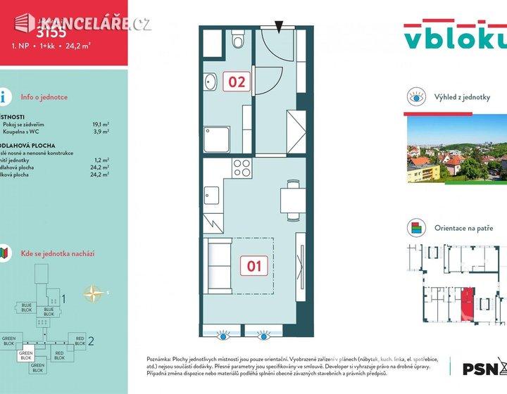 Obchodní prostory na prodej - Peroutkova 531/81, Praha, 24 m² - foto 3