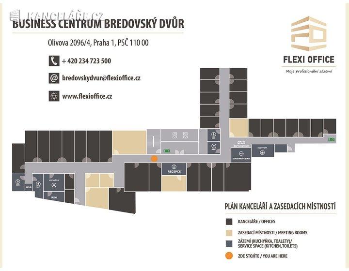 Kancelář k pronájmu - Olivova, Praha - Nové Město, 45 m² - foto 4