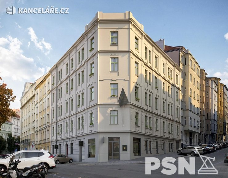 Byt na prodej - 2+kk, Bořivojova 1049/57, Praha, 73 m²