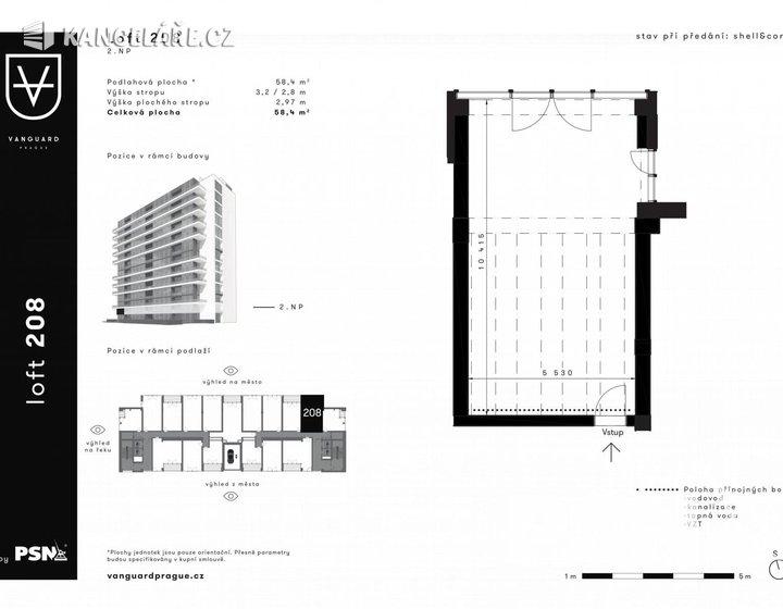 Kancelář na prodej - Československého exilu 3068/20, Praha, 58 m² - foto 1
