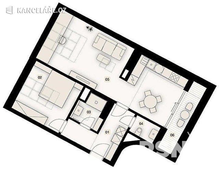 Byt na prodej - 2+1, Bořivojova 1049/57, Praha, 76 m² - foto 6