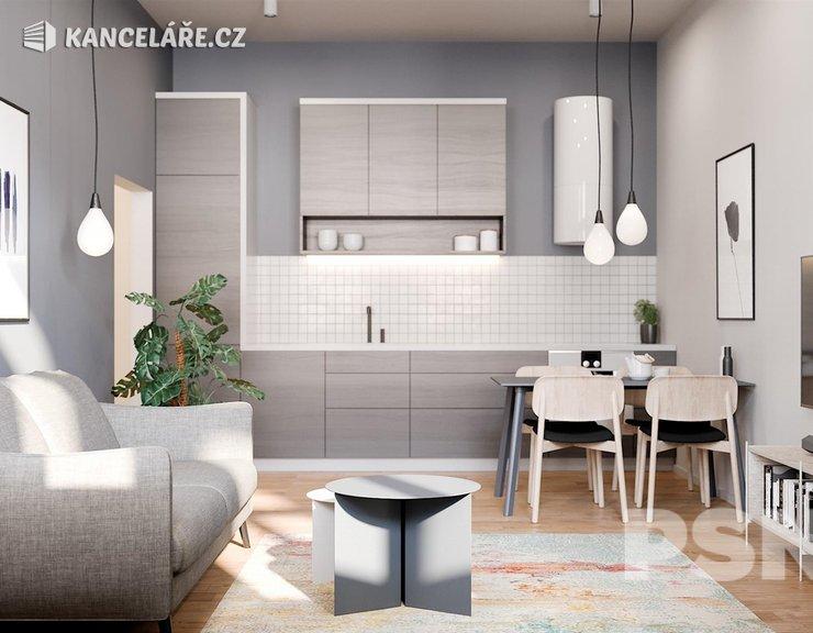 Byt na prodej - 1+kk, Bořivojova 1049/57, Praha, 41 m²