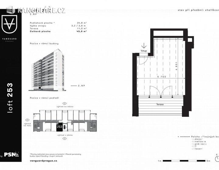 Kancelář na prodej - Československého exilu 3068/20, Praha, 46 m² - foto 1