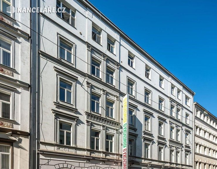 Kancelář k pronájmu - Krakovská 583/9, Praha, 512 m²