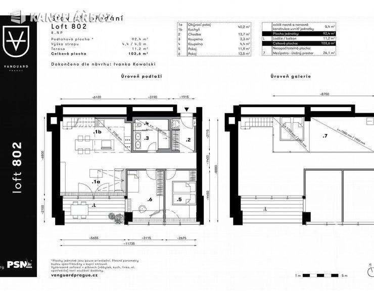 Byt na prodej - Atypický, Československého exilu 3068/20, Praha, 104 m²