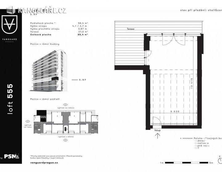 Byt na prodej - Atypický, Československého exilu 3068/20, Praha, 68 m² - foto 1