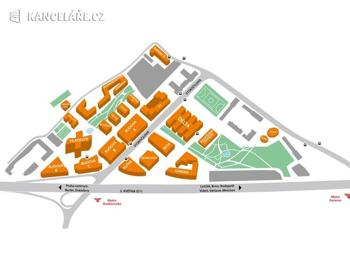 Kancelář k pronájmu - Želetavská 1525/1, Praha - Michle, 3 494 m² - foto 15