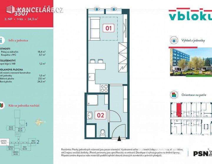 Byt na prodej - 1+kk, Peroutkova 531/81, Praha, 24 m² - foto 10