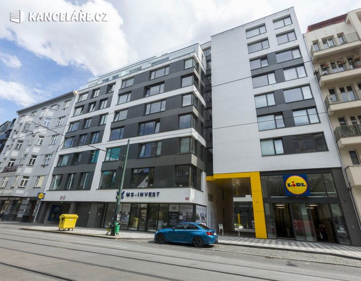 Kancelář k pronájmu - Sokolovská 694/98, Praha - Karlín, 54 m²