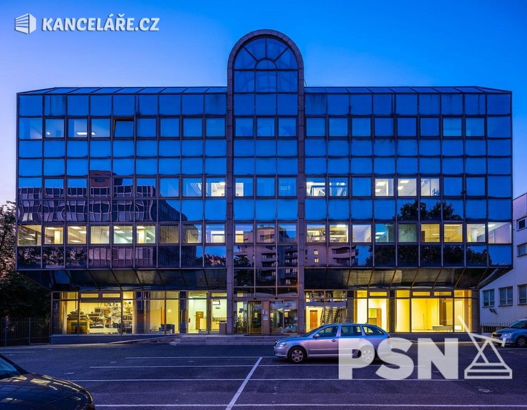 Kancelář k pronájmu - Ohradní 1394/61, Praha, 135 m²