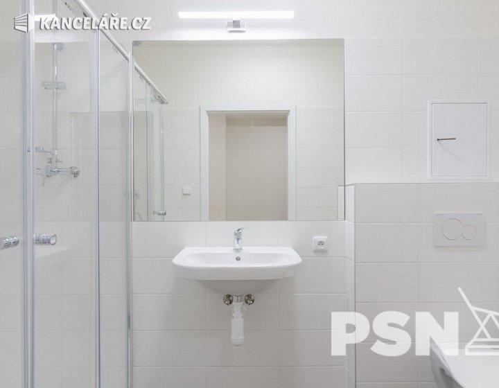 Byt k pronájmu - 1+kk, Peroutkova 531/81, Praha, 26 m² - foto 3
