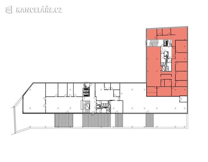 Kancelář k pronájmu - Michelská 1552/58, Praha - Michle, 464 m² - foto 13