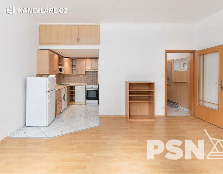 Byt k pronájmu - 2+kk, Na Mlejnku 781/2, Praha, 55 m²
