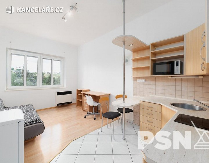Byt k pronájmu - 2+kk, Na Mlejnku 781/2, Praha, 48 m² - foto 1