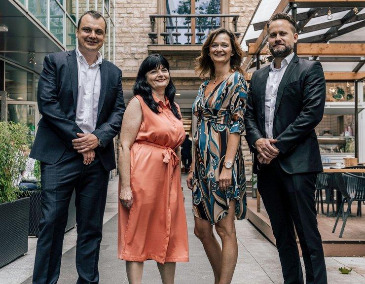 Colliers International má nový manažerský tým ve správě Slovanského domu