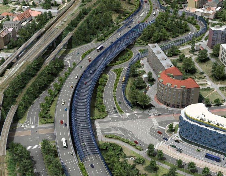 Průzkum: Praha potřebuje silniční okruhy více než metro, ale drahé bydlení trápí lidi více než špatná doprava
