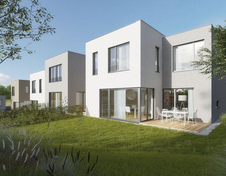 Modřanský Háj zahájil výstavbu závěrečné fáze rodinných domů