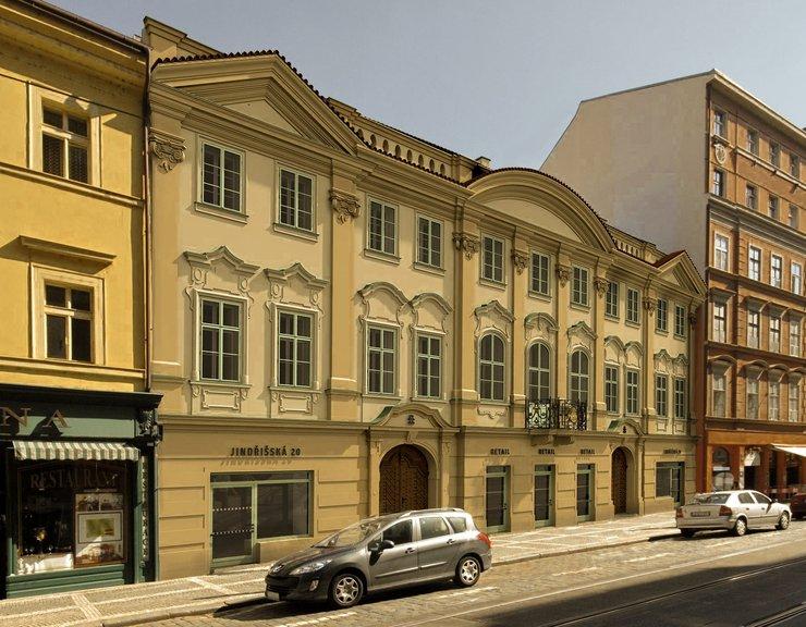 Společnost Savills byla pověřena správou  Harrachovského paláce v centru Prahy
