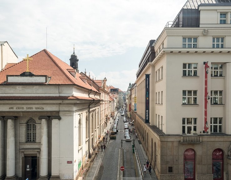 Nájemné v centru Prahy roste. Stojí za tím silný zájem firem i vyšší stavební náklady