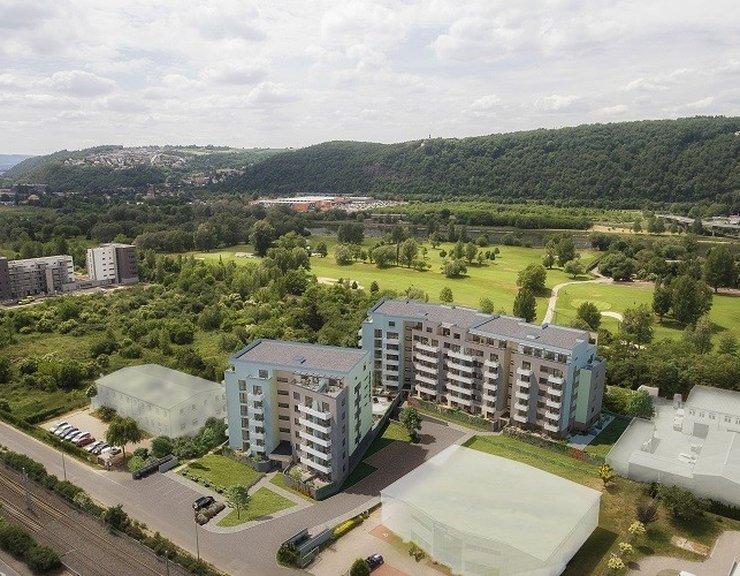 Hrubá stavba Ekorezidence Hodkovičky dokončena, přes 90 procent bytů prodáno