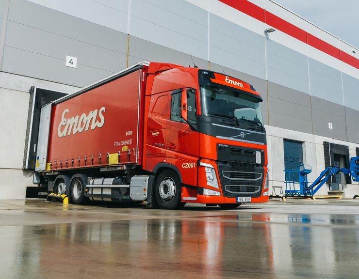 Přepravní společnost Emons očekává nárůst zájmu o privátní doručování; otevřela nový hub v Praze