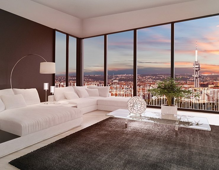 Prodaných nových bytů loni v Praze mírně ubylo, celkem developeři prodali 4910 bytů