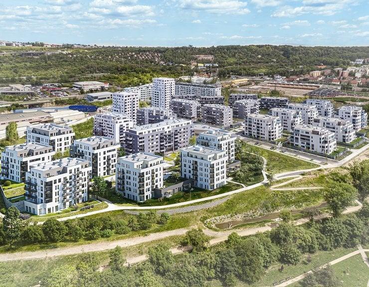 Nových bytů se letos v Praze prodalo zatím takřka o polovinu více než loni