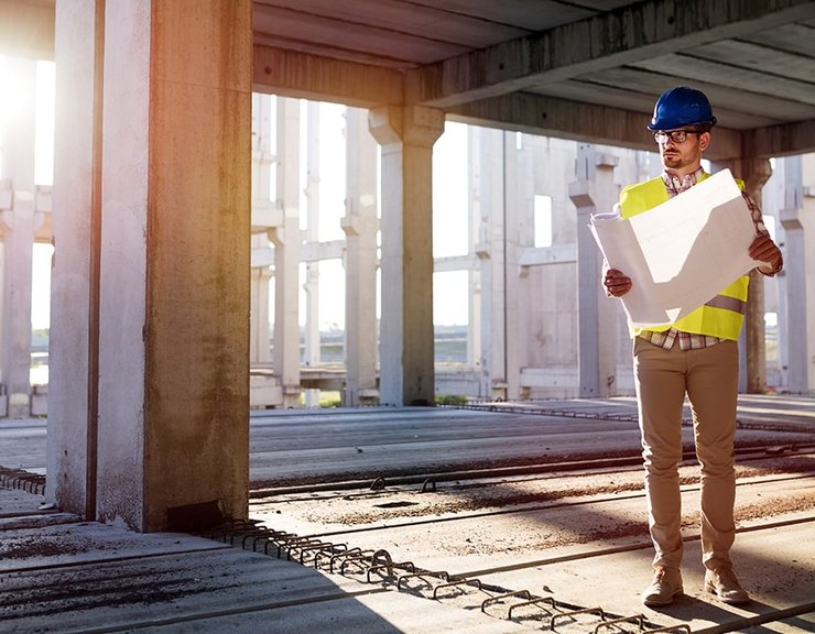 Stavebnictví se propadalo i v únoru, dolů šlo pozemní stavitelství a klesla i bytová výstavba