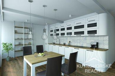 Prodej bytu 2+kk, 60m2 v Kutné Hoře - Nádražní ulice, Ev.č.: 008MM