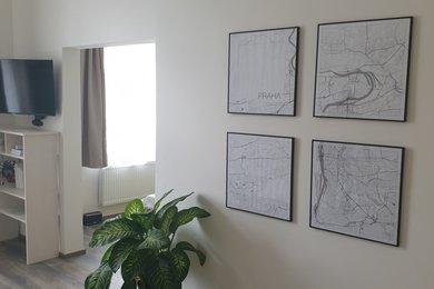 Pronájem vybaveného bytu 2+kk, 45m² - Praha - Holešovice, Ev.č.: 00046