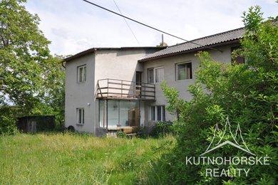 Prodej patrového rodinného domu se zahradou v obci Třebonín u Kutné Hory, Ev.č.: 002MM