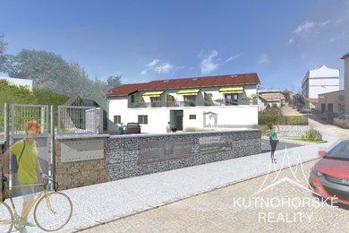 Prodej nového bytu 2+kk s předzahrádkou, 63,74 m² - Světlá nad Sázavou, Ev.č.: 004VC