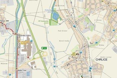 Prodej pozemku 1333m2 blízko NC Olympie a sjezdu z D2, Ev.č.: 0220141