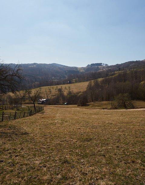 AUKCE stavebního pozemku, celková výměra výměra 21120 m2, obec Vyškovec, okres Uherské Hradiště