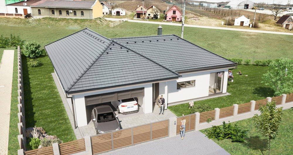 PRODEJ rodinného domu 5+kk, podlahová plocha 181 m2, pozemek 945 m2, Novosedly