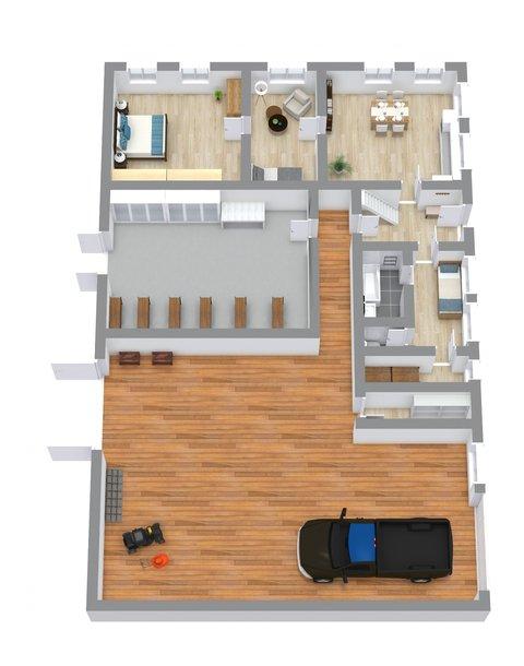 Floorplan letterhead - Dm Dobra - 1. Floor - 3D Floor Plan