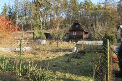 Prodej krásné chaty na okraji Tišnova se slunnou zahradou, Ev.č.: 00011