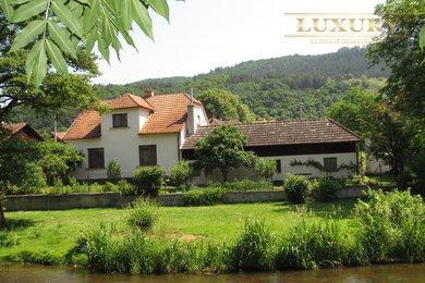 Prodej nádherného domu 5+kk u řeky, Borač - Podolí, Ev.č.: 00027