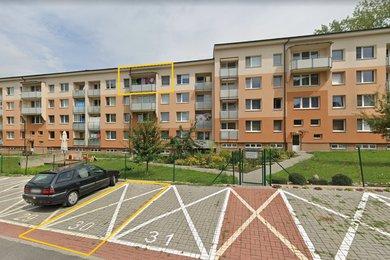 Prodej, byt 2+1, 43 m2, Olomouc, ul. Hněvotínská, Ev.č.: 00136