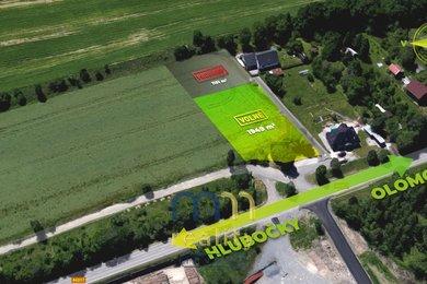 Prodej, stavební pozemek, 1949 m2, Velká Bystřice, Ev.č.: 00239