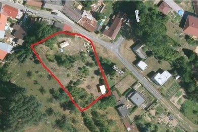 Prodej, pozemek pro bydlení, 2170 m2 , Velký Týnec - Čechovice, Ev.č.: 00092
