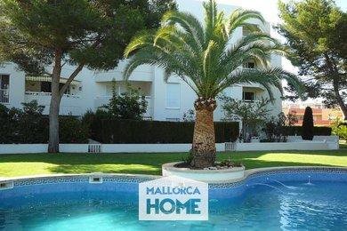 PRODEJ. Udržovaný apartmán 2+kk. Zařízení, komunitní bazén, zahrada. Maioris, Mallorca, Ev.č.: MHA2118