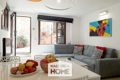 PRONÁJEM. Apartman Angela se 2 ložnicemi. Moře, hory, pláž. Port de Sóller, Mallorca, Ev.č.: MHT2101