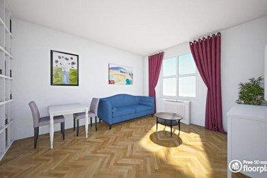 Prodej, Byty 2+kk, 50m² - Praha - Smíchov, Ev.č.: 00377