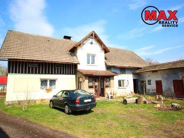 Rodinný dům o dispozici 3+1, Vítězná - Huntířov, okr. Trutnov, pozemek 3899m2